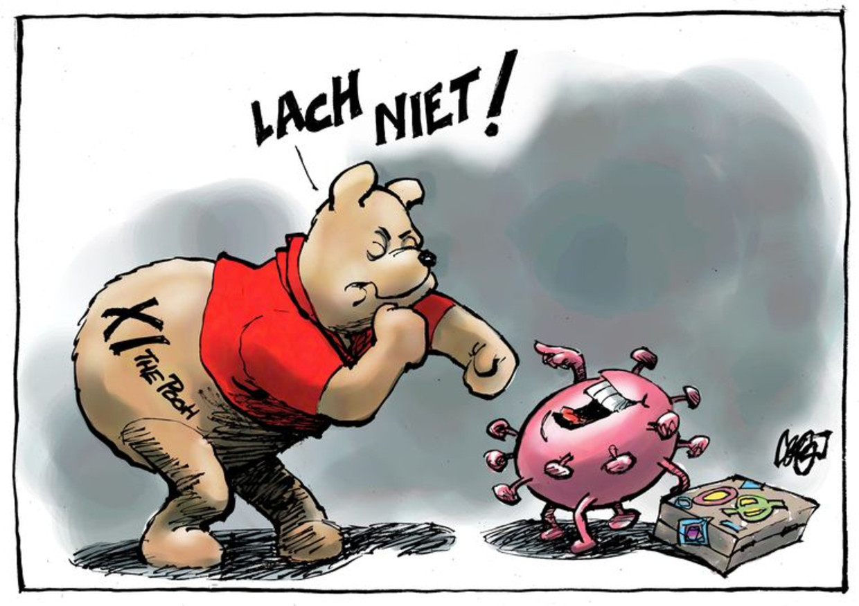 De cartoon van Jos Colligon van 6 februari.  Beeld Jos Colligon