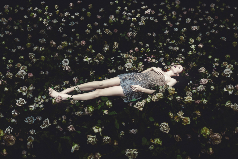 Modewerk van Rahi Rezvani voor Versace.  Beeld Rahi Rezvani