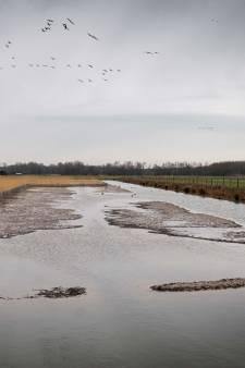 Opvallend weinig water in Waterrijk in Park Lingezegen