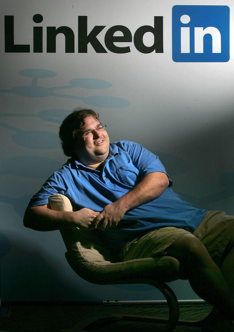 Reid Hoffman, mede-oprichter van LinkedIn. Beeld ap