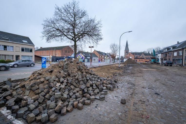 De heraanleg van het Kardinaal Cardijnplein is gestart