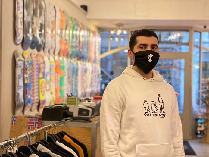 Mohamed Saouti van Curb Skateshop.