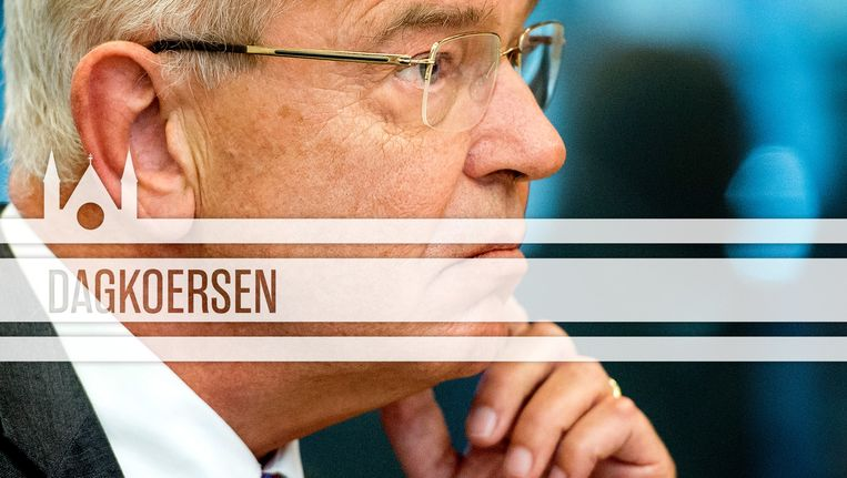 ABN-topman Gerrit Zalm tijdens een hoorzitting in de Tweede Kamer. Beeld ANP