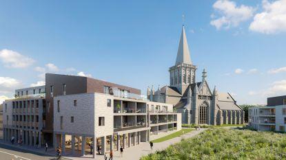 Zo ziet kruispunt Nieuwstraat-Steenweg er in 2022 uit: 36 nieuwe flats rond Sint-Martinuskerk