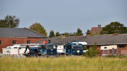 Civiele Bescherming kampeert in Lendelede om grootste drugslab ooit te ontmantelen