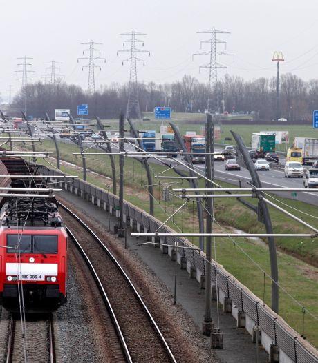 De Betuweroute: een vergeefse reddingspoging voor het zwaar overbelaste spoor in Brabant