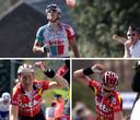 Philippe Gilbert (2011), Rik Verbrugghe (2001) et Mario Aerts (2002): les trois derniers vainqueurs belges de la Flèche Wallonne.
