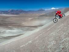 Oostenrijkse mountainbiker raast met 167 km per uur van berg