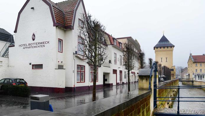 Het hotel in Valkenburg waar het meisje werd gevonden