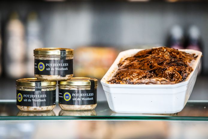 Potjesvlees en boerenpaté zijn allebei erkend als streekproduct.