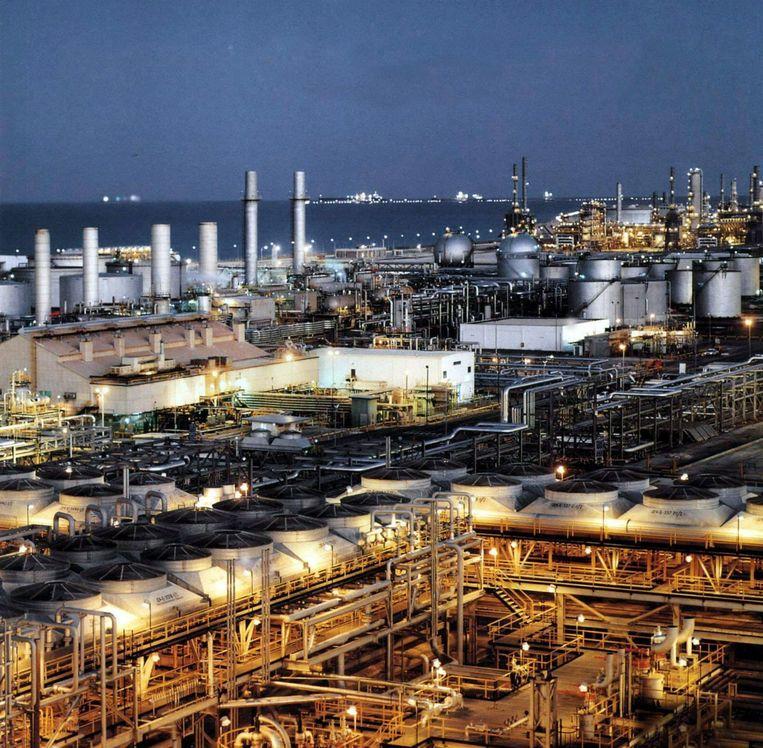 Olie raffinaderij aan de oostkust van Saoedi-Arabië. Beeld epa