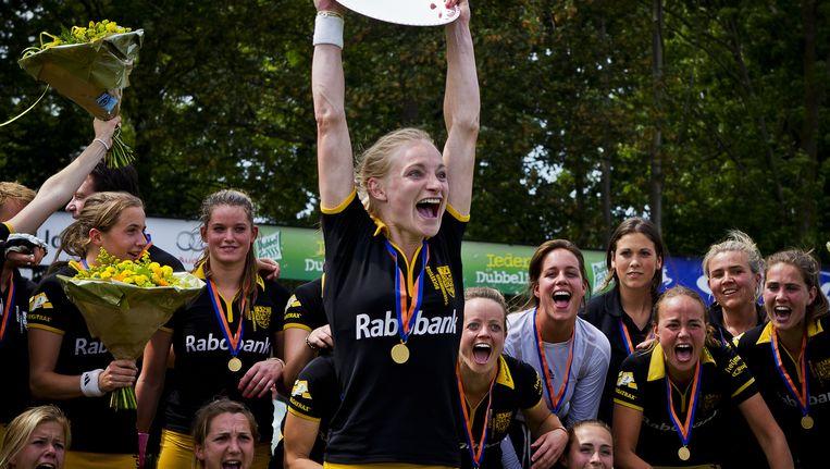 In 2011 werd Den Bosch ook al kampioen. Beeld anp