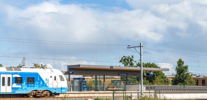 Station Zwolle Stadshagen gaat in december open.