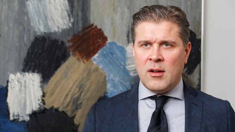 Bjarni Benediktsson, leider van de Onafhankelijkheidspartij.