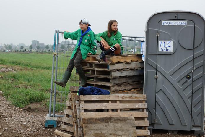 De scouts verhuizen na de zomer naar Doornsteeg.