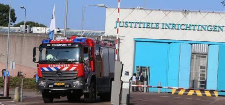 Brand gesticht in cel gevangenis Vught