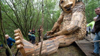 15 jaar Tomorrowland gevierd met reuzegrote trollen