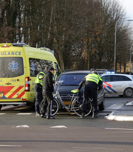 Fietsster gewond bij aanrijding in Goes
