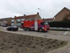 Oliespoor door Oostburg, brandweer moet soppen