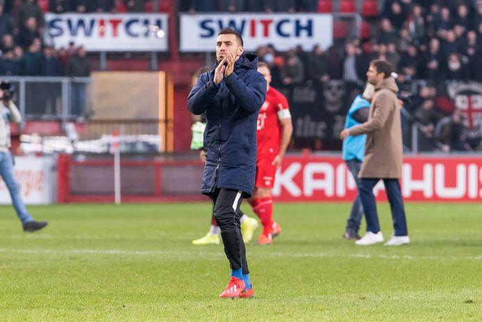 """Nadat hij tegen FC Twente al deel uitmaakte van de selectie, heeft Bram van Polen in Köln ook weer zijn eerste minuten gemaakt voor PEC Zwolle. ,,Ik ben weer helemaal beschikbaar. Eindelijk."""""""