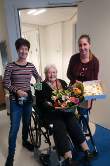 Mevrouw Van Leersum eerste patiënt op nieuwe afdeling Liemerije
