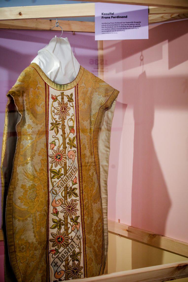 De kazuifel van Frans Ferdinand.