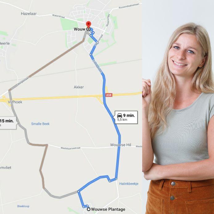 Nee, Wouw en Wouwse Plantage zijn niet hetzelfde dorp. Er zit zeker 5 kilometer tussen. Dat wil columnist Fee Buurmans maar eens goed duidelijk maken.