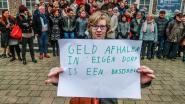 """Meer dan 50 Rekkemnaren zetten hun eis voor geldautomaat kracht bij tijdens bijeenkomst: """"Dit gaat over de leefbaarheid van ons dorp"""""""