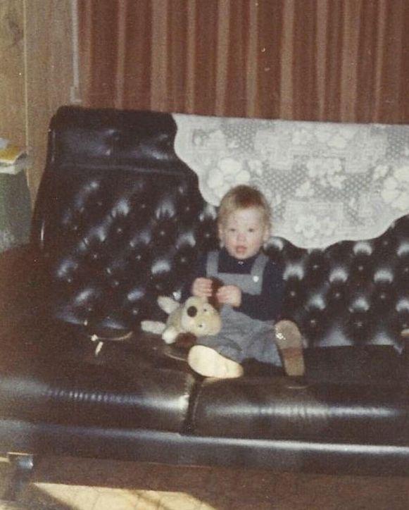 Henny Seroeyen als baby.