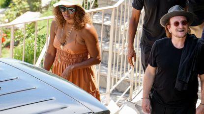 De Obama's amuseren zich op vakantie: lunch met Bono en verblijf bij George Clooney