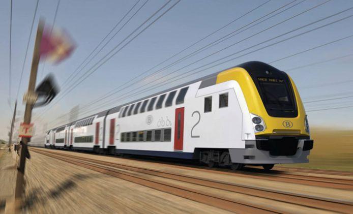 Au total, sur les 445 voitures M7 commandées, 50 seront introduites sur le trafic ferroviaire en 2020.