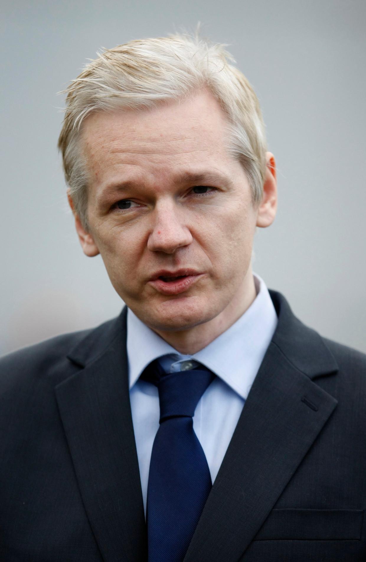 Wikileaks-oprichter Julian Assange.