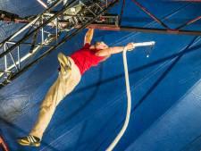 Circolo: De acrobaat ziet uitputting als een uitdaging. Circusfestival is ook een beetje kermis