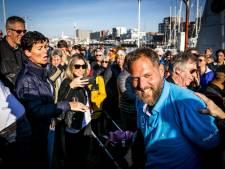 Mark Slats weer terug in Wassenaar: 'Jij bent een zeeheld met een hele grote Z'