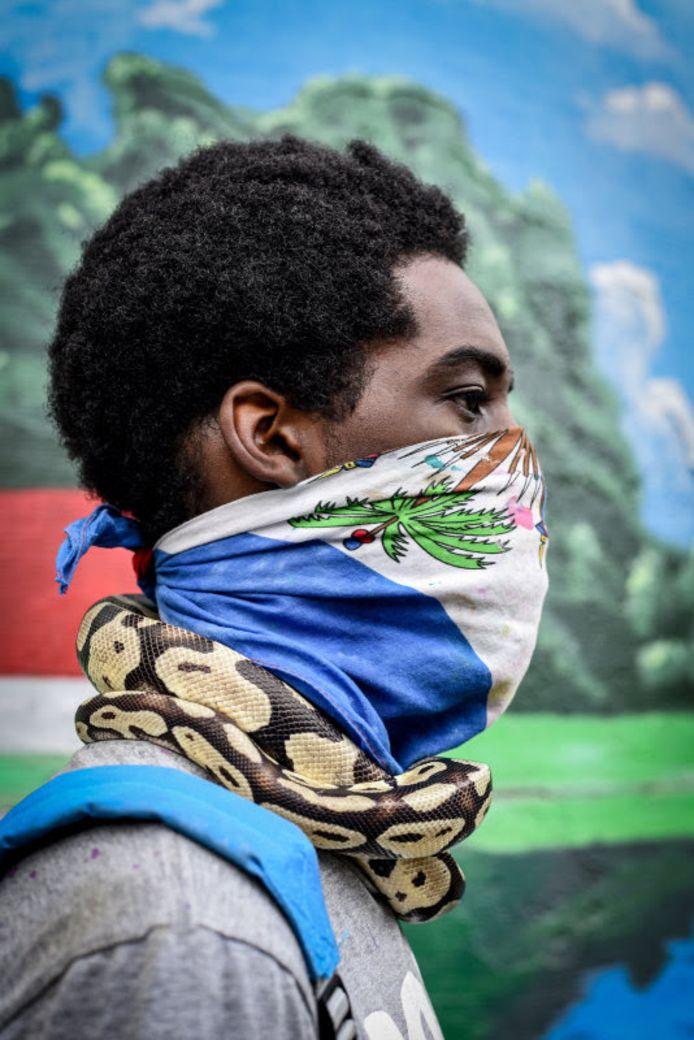Als eerste foto voor flyers en posters koos BredaPhoto voor een foto van de Amerikaanse fotografe Adreinne Waheed uit haar boek Black Joy and Resistance
