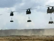 Klachten over helikopteroefeningen Hilvarenbeek toegenomen, Defensie komt met informatieavond