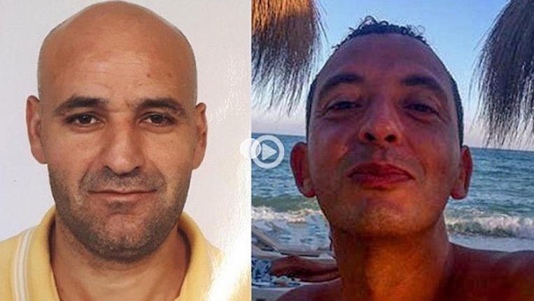 Het proces-Marengo omvat de berechting van zestien verdachten, inclusief de voortvluchtige Ridouan Taghi (rechts) en Saïd Razzouki (links) Beeld Opsporing Verzocht