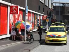 Man met rollator in Amersfoort onwel door warmte: omstanders bieden verkoeling met paraplu's