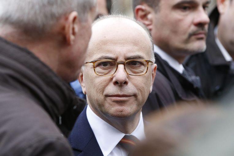 De Franse minister Cazeneuve van Binnenlandse Zaken Beeld anp