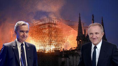 Deze steenrijke zakenmannen schenken miljoenen euro's om de Notre-Dame te herstellen