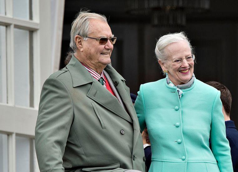 Prins Henrik en koningin Margrethe II.
