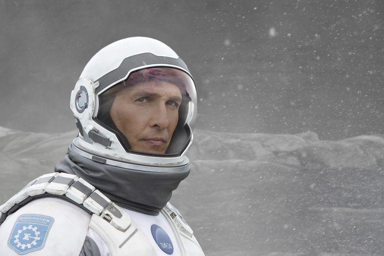 Matthew McConaughey in Interstellar. Beeld Melinda Sue Gordon
