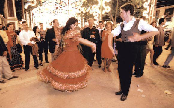 In Jerez De La Frontera is elke gelegenheid goed voor een flamencofeestje. Of een sherry.