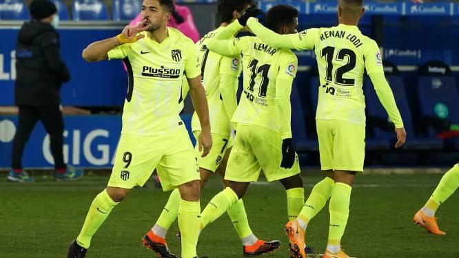 Atlético en Carrasco ontsnappen aan puntenverlies tegen Alaves