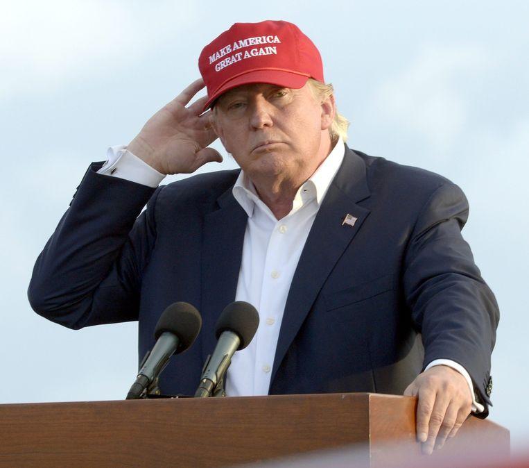 Trump. Beeld afp