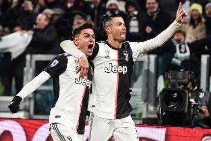 Voor achtste keer op rij trefzeker: Cristiano Ronaldo maakt beide Juve-goals tegen Parma