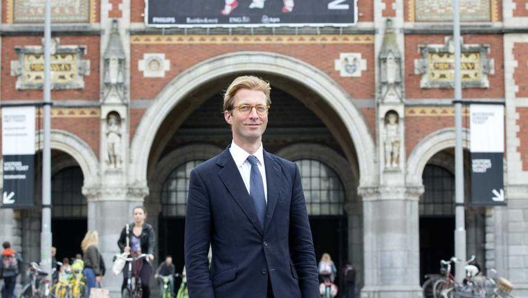 Taco Dibbets, de nieuwe directeur van het Rijksmuseum. Beeld anp