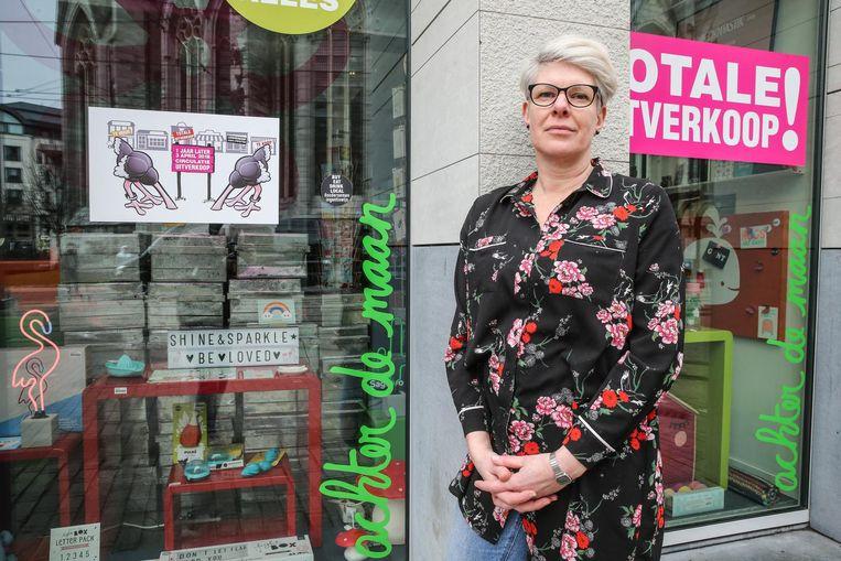 Na 25 jaar sluit Leen Rosseels haar winkel Achter De Maan.