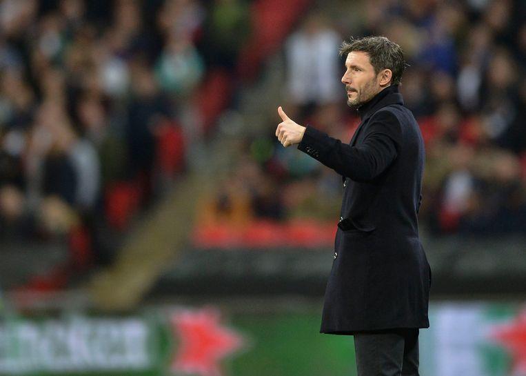 Mark van Bommel tijdens de wedstrijd tussen PSV en Tottenham Hotspur in november vorig jaar. Beeld Getty Images