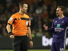 Anderlecht mis à l'amende pour les insultes contre l'arbitre et le gardien brugeois